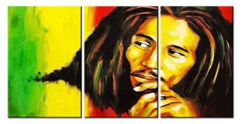 Emmanuelgift Canvas Wall Art canvas print pop art Bob Marley 1 ...
