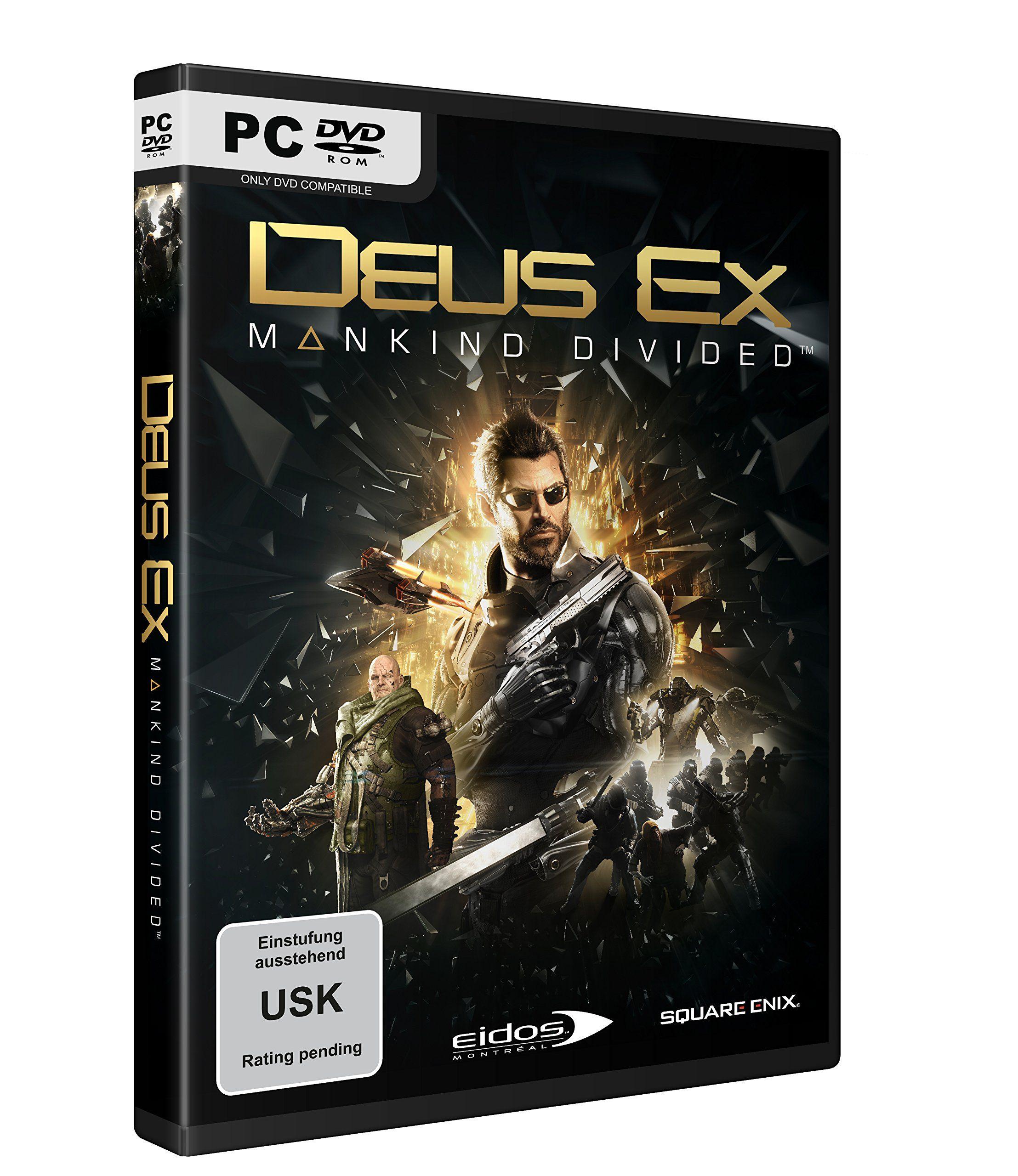 Deus Ex Mankind Divided (PC): Amazon.de: Games