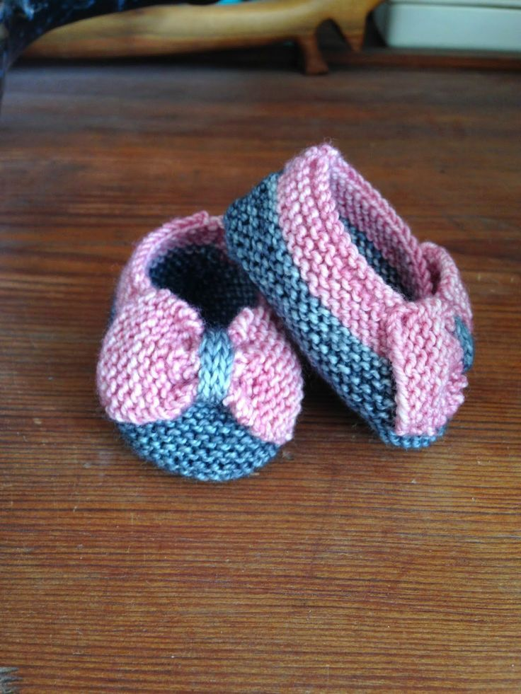 Baby booties. Free pattern. Yarn weight Fingering / 4 ply (14 wpi ...