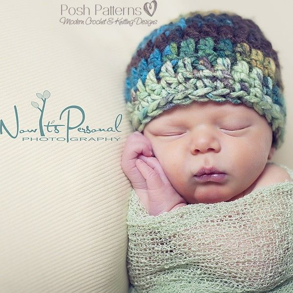 Free Baby Hat Crochet Pattern | Gorros y Bebe