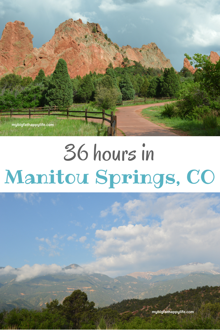 36 Hours in Manitou Springs, Colorado - From Red Rocks to Dinosaurs: One Perfect Day in Manitou Springs, Colorado for the whole family, see what I think is the perfect agenda. | mybigfathappylife.com
