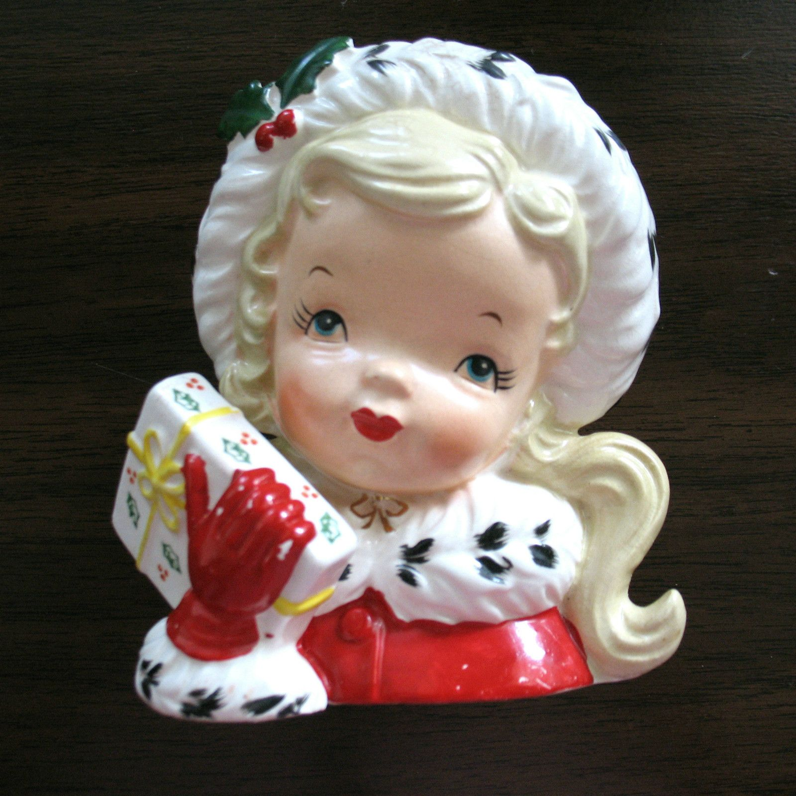 1956 napco christmas girl head vase headvase 3 pinterest 1956 napco christmas girl head vase i own this one too reviewsmspy