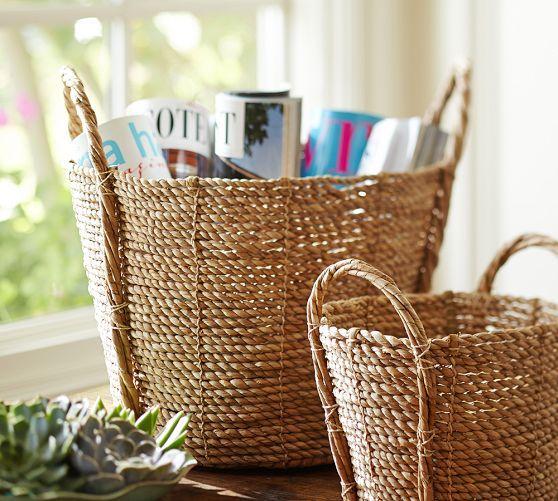Pottery Barn Presidents Day Sale: Basket, Home Decor Sale, Pottery Barn