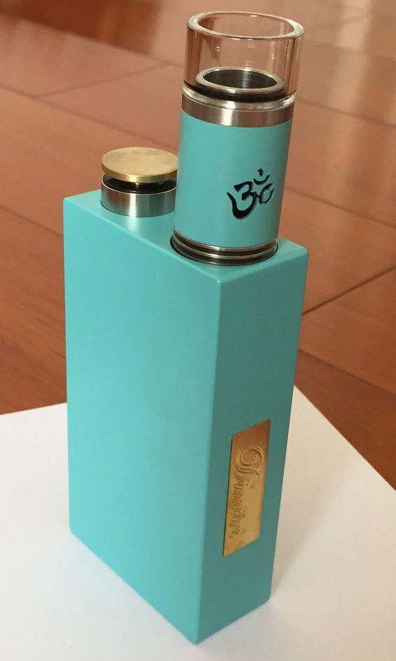 High Quality Dimitri Mechanical Style Blue Box Mod + Turbo Blue RDA Clones    eBay   dampfer   Pinterest   Blue box, Vape and Box