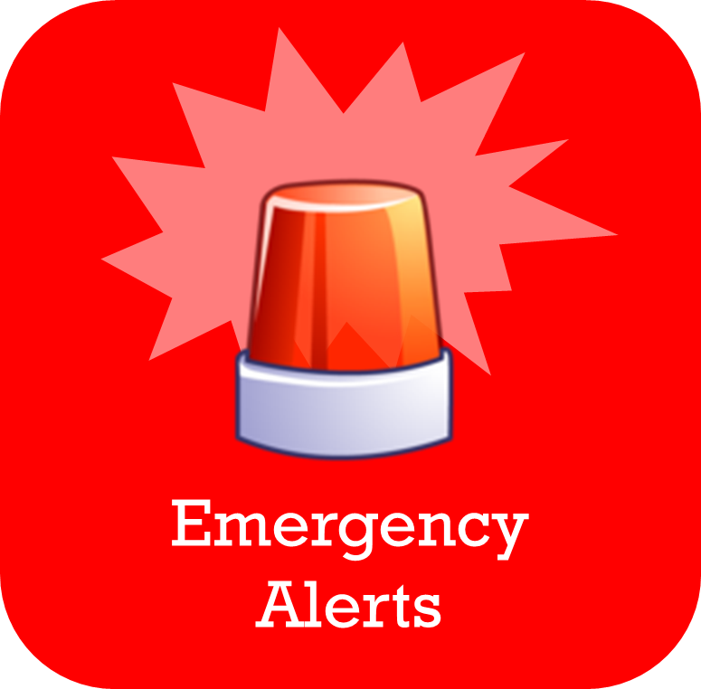 Get emergency alerts from the National Weather Service and from ...