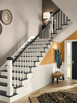 Behr 174 Contemporary Staircase Note Paint Colors Golden