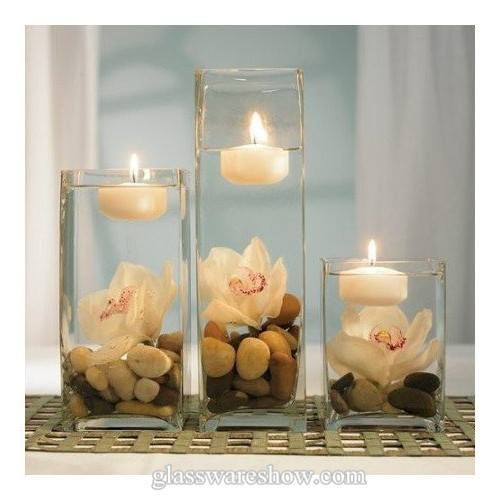 Flowers With Floating Candle Centerpieces: Wodnerful DIY Unique Floating Candle Centerpiece With