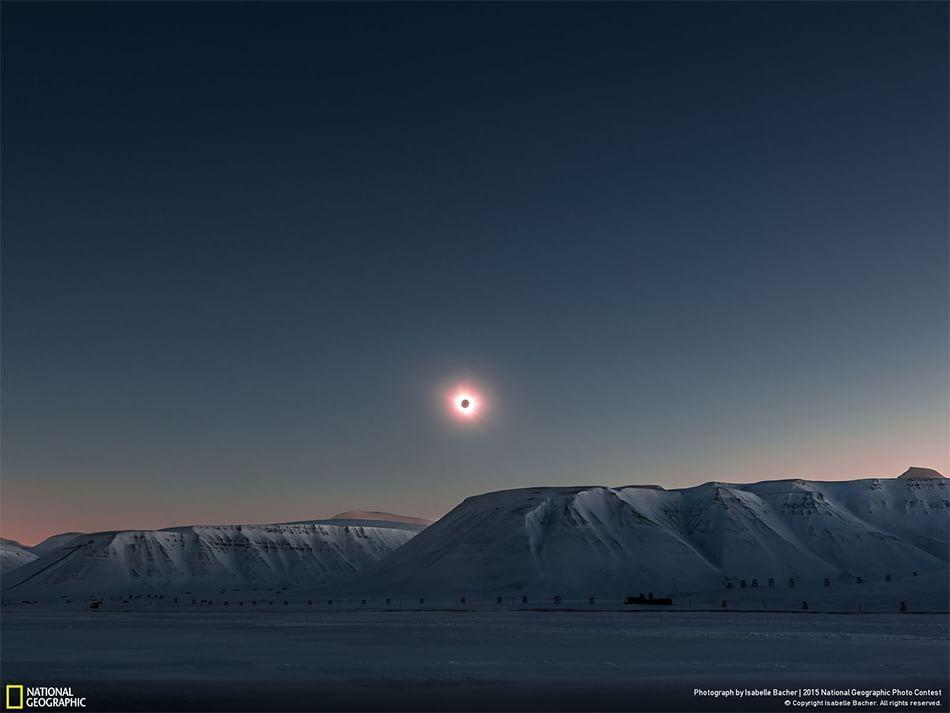 Fotografia di Isabelle Bacher Longyearbyen, Svalbard, Isole Svalbard