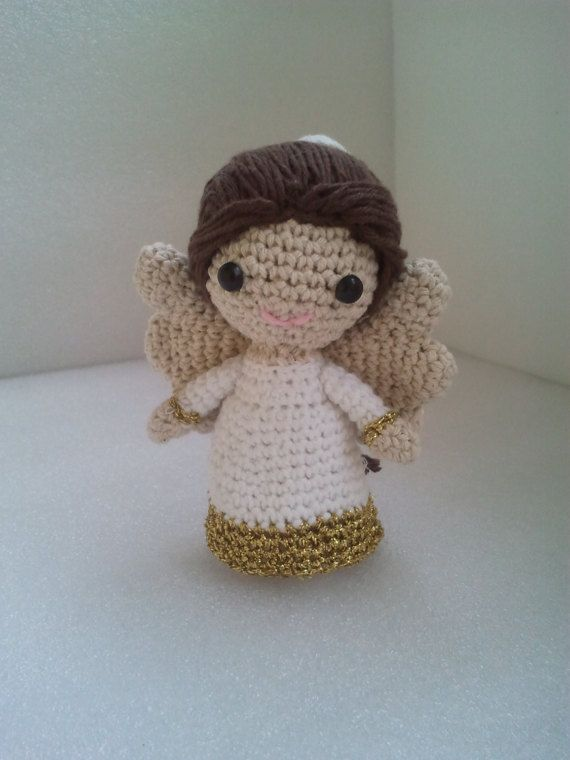 Ángel tejido a crochet amigurumi (Parte 2) | Crochet amigurumi ... | 760x570