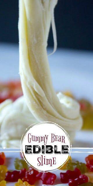Gummy Bear Edible Slime #edibleslime Gummy Bear Edible Slime #edibleslime