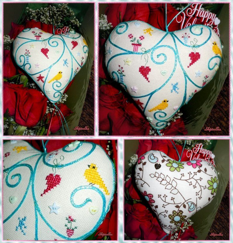 The World's Largest Collection of Smalls TOO: Heart Pincushion