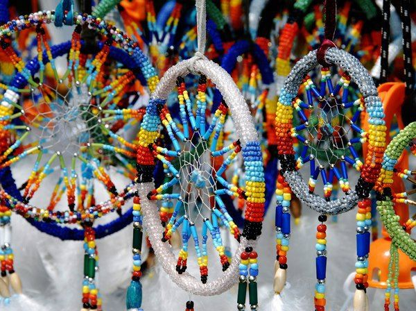 BEADED DREAMCATCHERS MADE BY NATIVE AMERICANS PENDLETON NATIVE Delectable Native American Beaded Dream Catchers