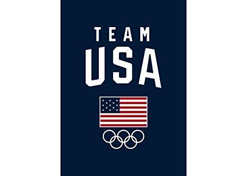 "Team USA Olympics Blanket 50"" x 70"" Usa olympics, Team"