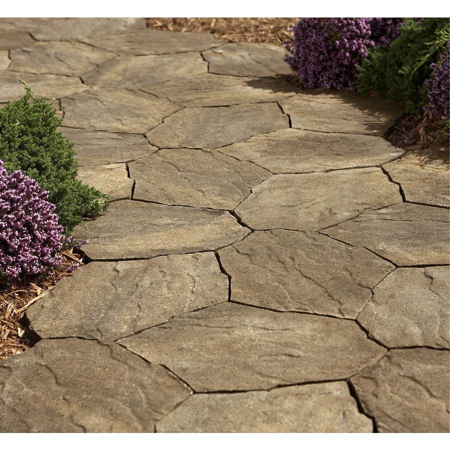 Shop Sand Tan Portage Patio Stone (Common: 16-in x 21-in; Actual ...