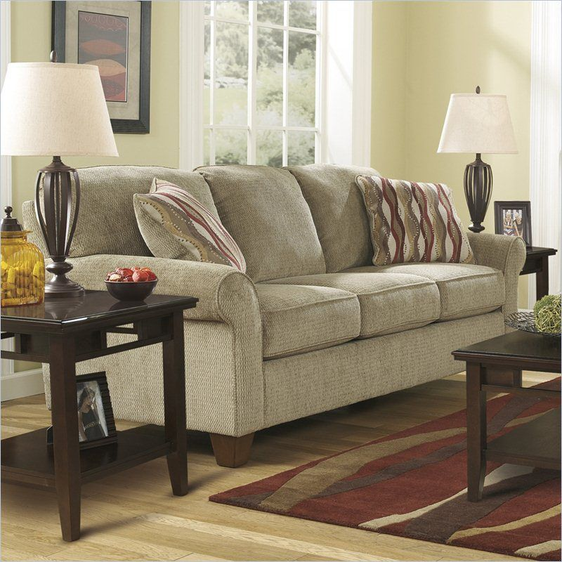 Signature Design By Ashley Furniture Newton Sofa In Pebble Fsd
