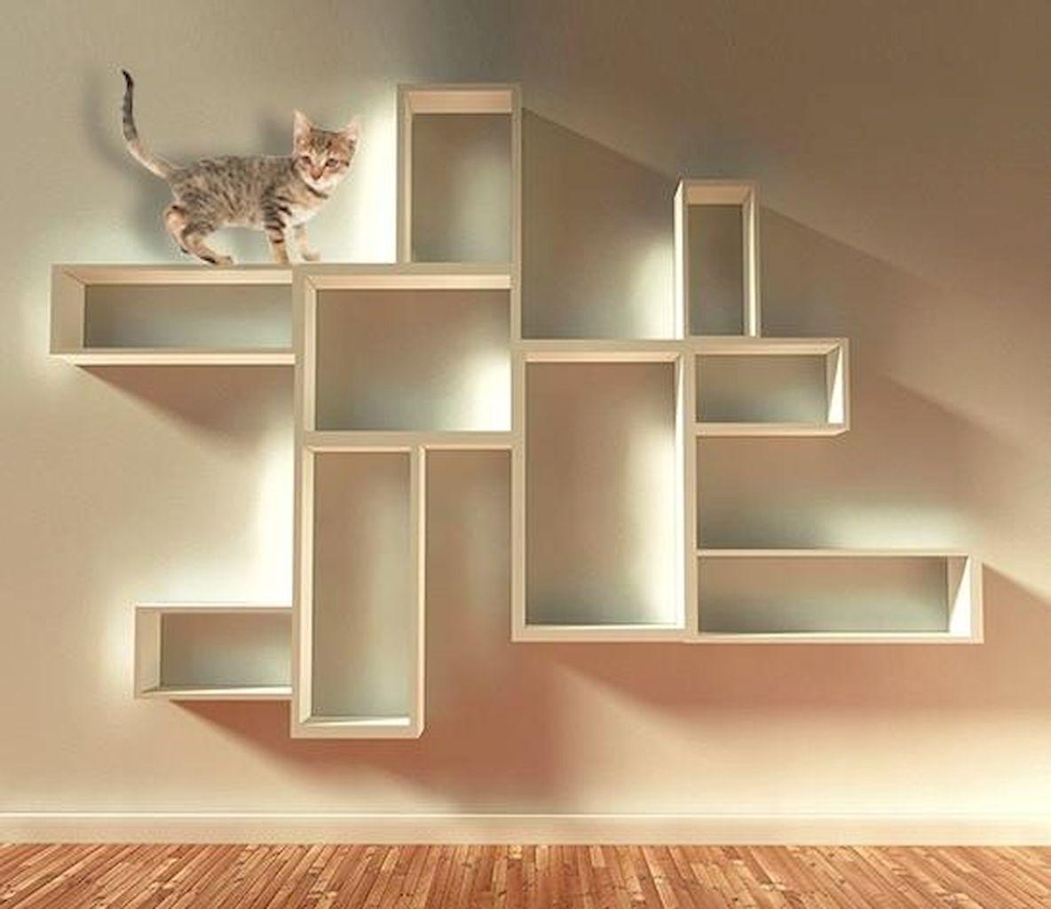 Adorable 60 cheap diy wall shelves floating ideas https
