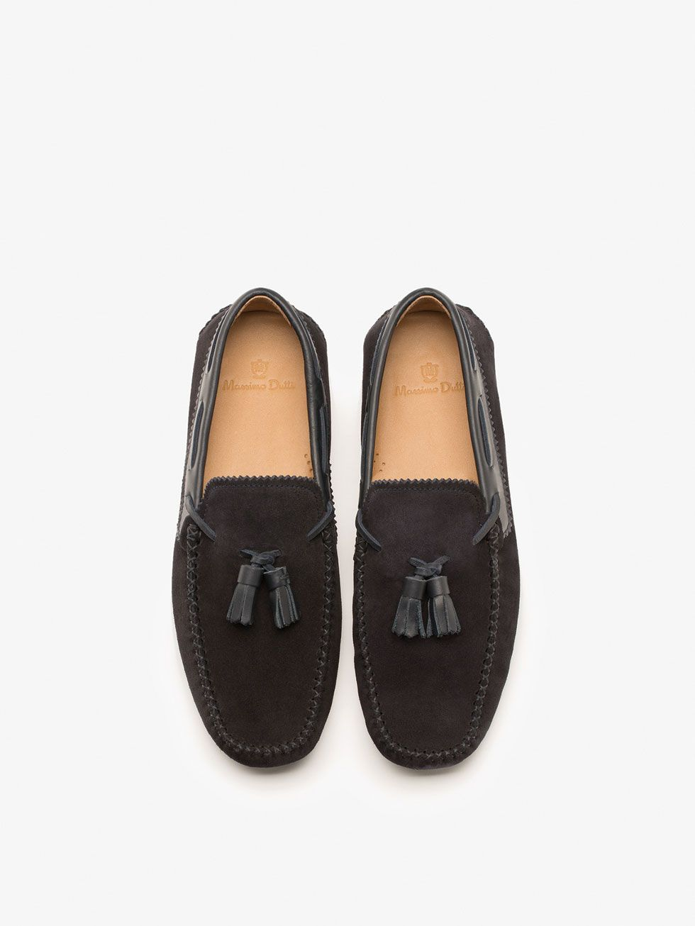 cd2aebdbb93 Tassel Loafers - Suede - View all - Shoes - MEN - Massimo Dutti ...