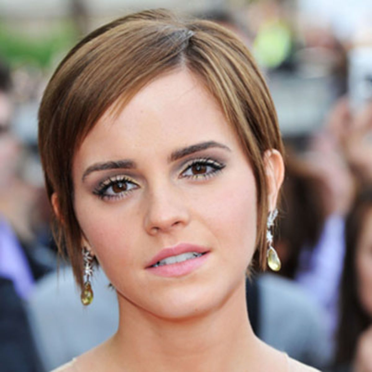 Emma Watson, star of the Harry Potter film series, has