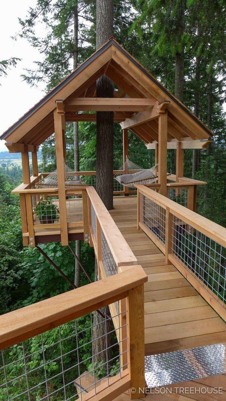 33 Wonderful Tree House Design Ideas For Kids 3 Fieltro Net Cool Tree Houses Tree House Designs Tree House Plans