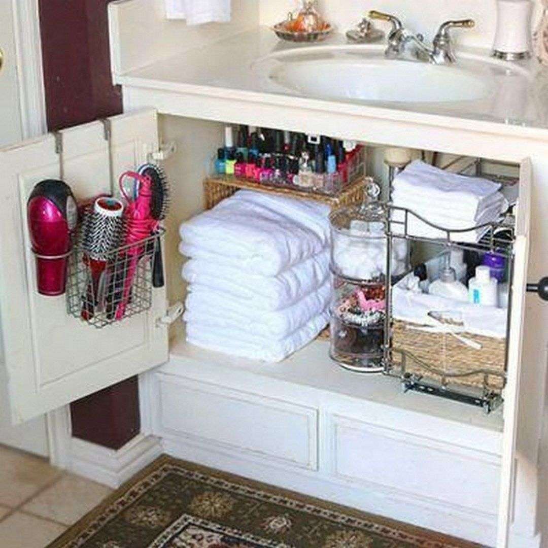 30 Quick And Easy Bathroom Organization Tips