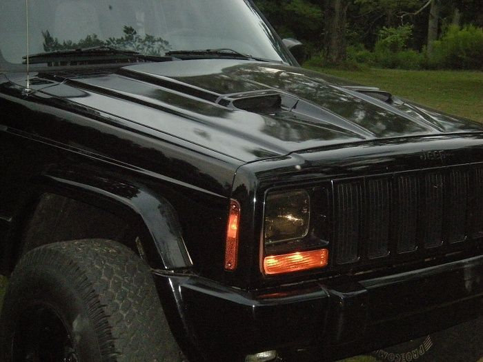 Jeep Xj Hood Vents Ram Air Hood Fitted Hood Xj Pinterest