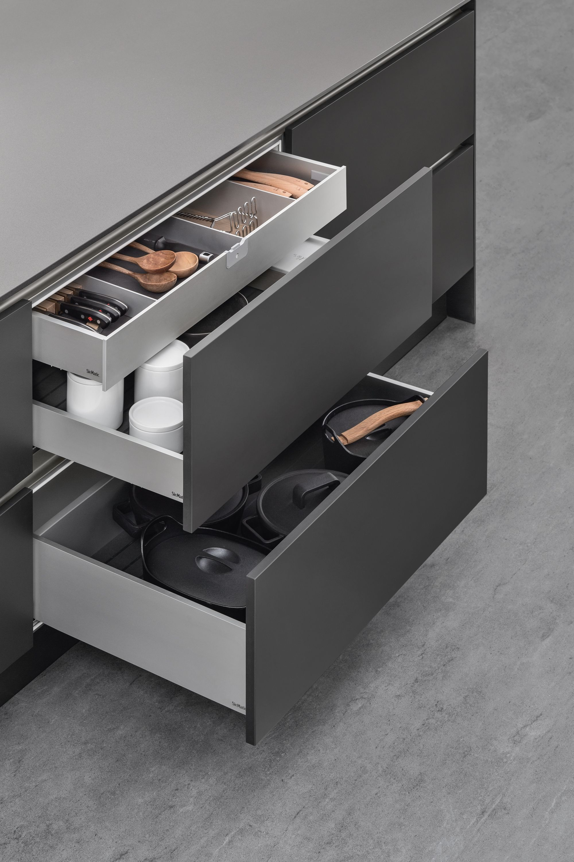 Best Siematic Aluminium Drawers A Kitchen Pinterest 400 x 300