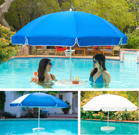 Pool Buoy Floating Umbrella | Swimmingpool, Wohnideen und Garten