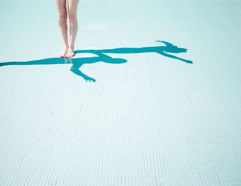 The swimming competition, Francesco Paolo Catalano 2014  #francescopaolocatalano #fashionphotography #visualstorytelling #swimingpool #blue