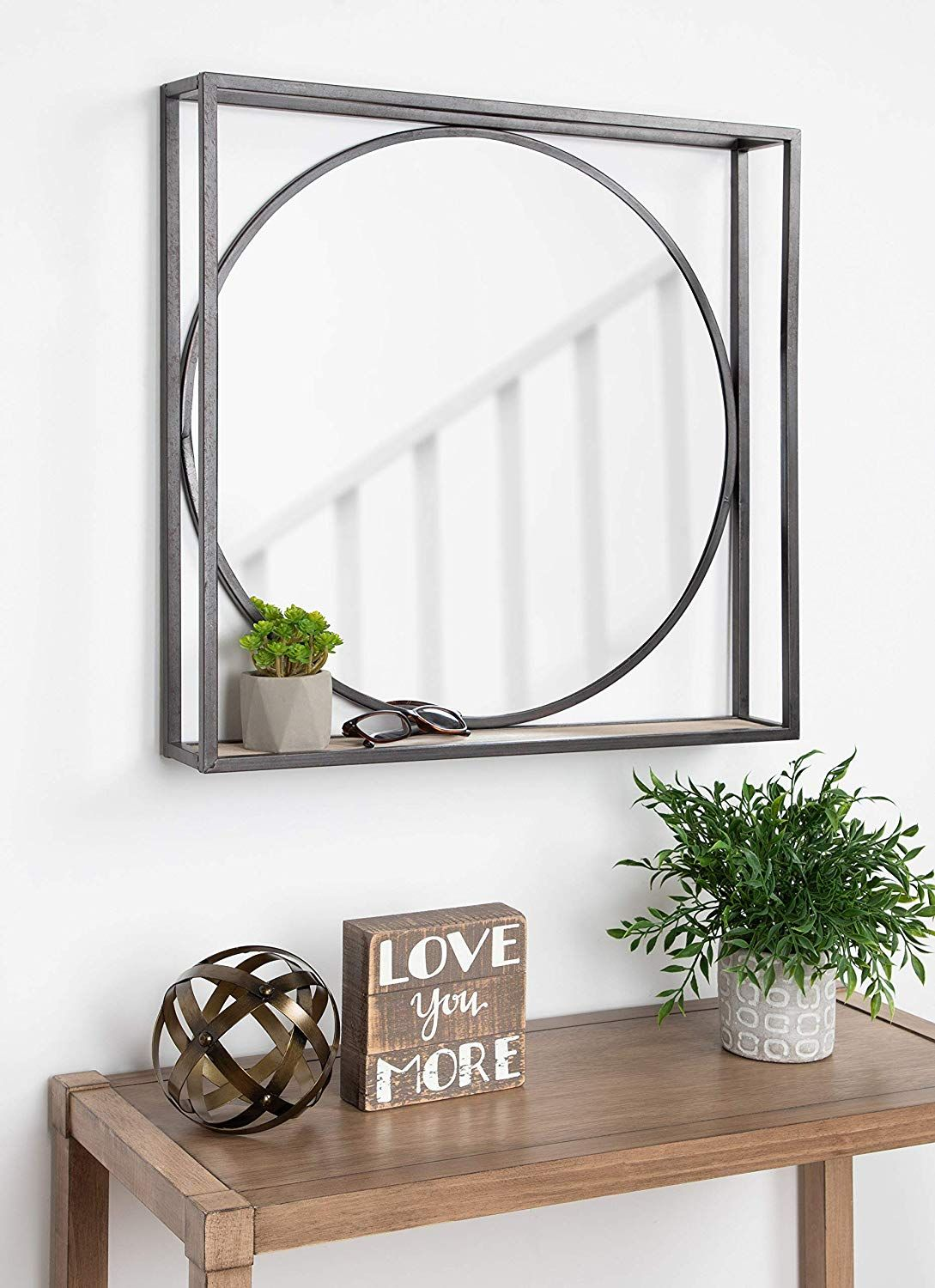 DoubleDutyDecor 20 Mirrors With Shelves
