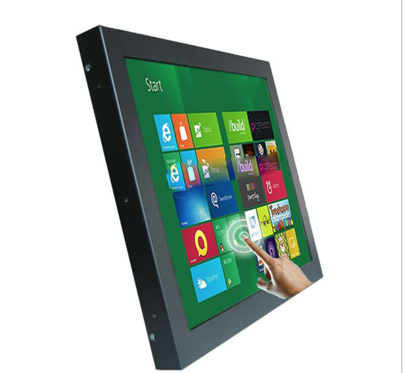 12 Inch Metal Open Frame Touch Screen Monitor Industrial Saw Touch Screen Pc One Year Warranty Industrial Computer Lcd Monitor Open Frame Computer Accessories