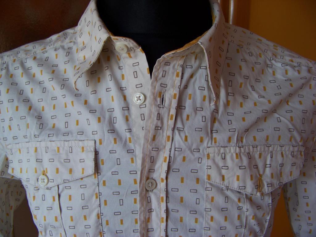 Divided By H M Koszula Meska 38 Bezowa Wzorki 4213501883 Oficjalne Archiwum Allegro Mens Tops Shirts Shirt Dress