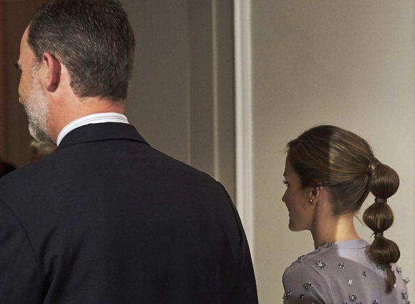 Queen Letizia and Felipe attend 60th anniversary of Europa Press