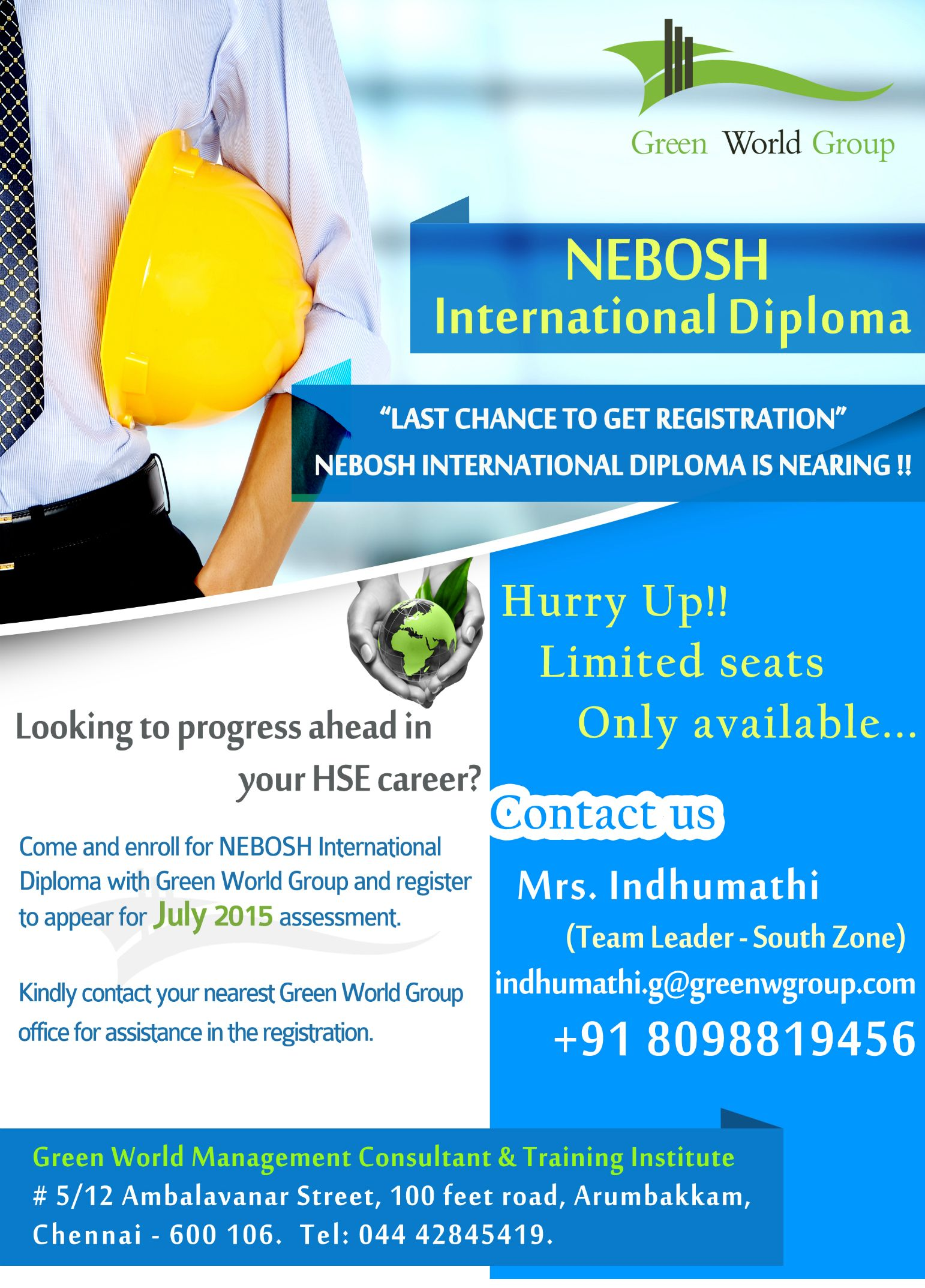 Pin By Greenworld Group On Nebosh International Diploma Course