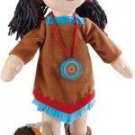 'Sihu' American Indian doll, HABA, RRP $99.95, wholesale $47.91, roseandlily.com.au, 1300 119 837 #indianbeddoll