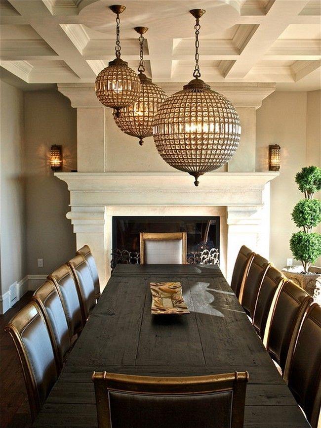 Architectural Detailing  Lighting  Interior Details  Pinterest Stunning Pendant Lighting For Dining Room Decorating Design