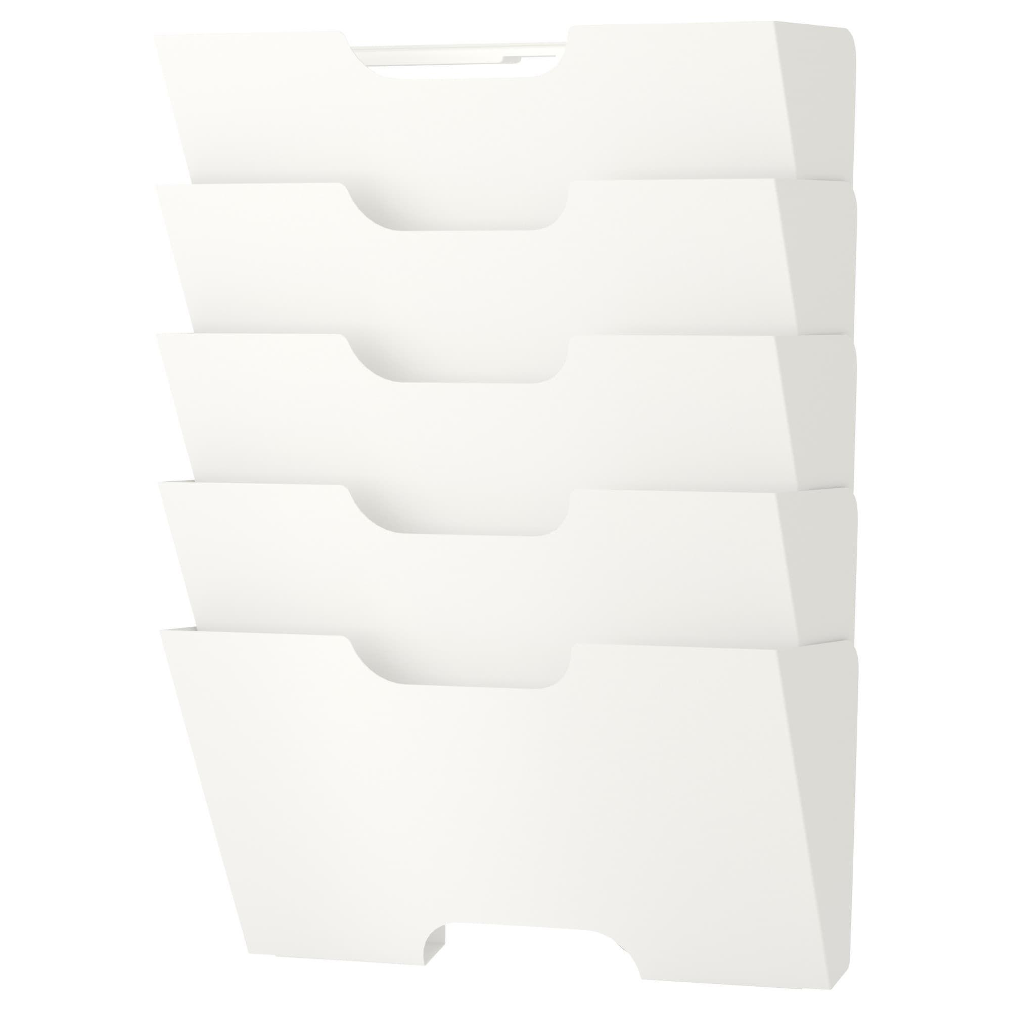 Ikea Kvissle White Wall Magazine Rack Ikea Wall File Ikea Wall