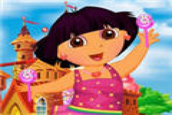 لعبة تلبيس الطفلة دورا العاب بنات Anime Art