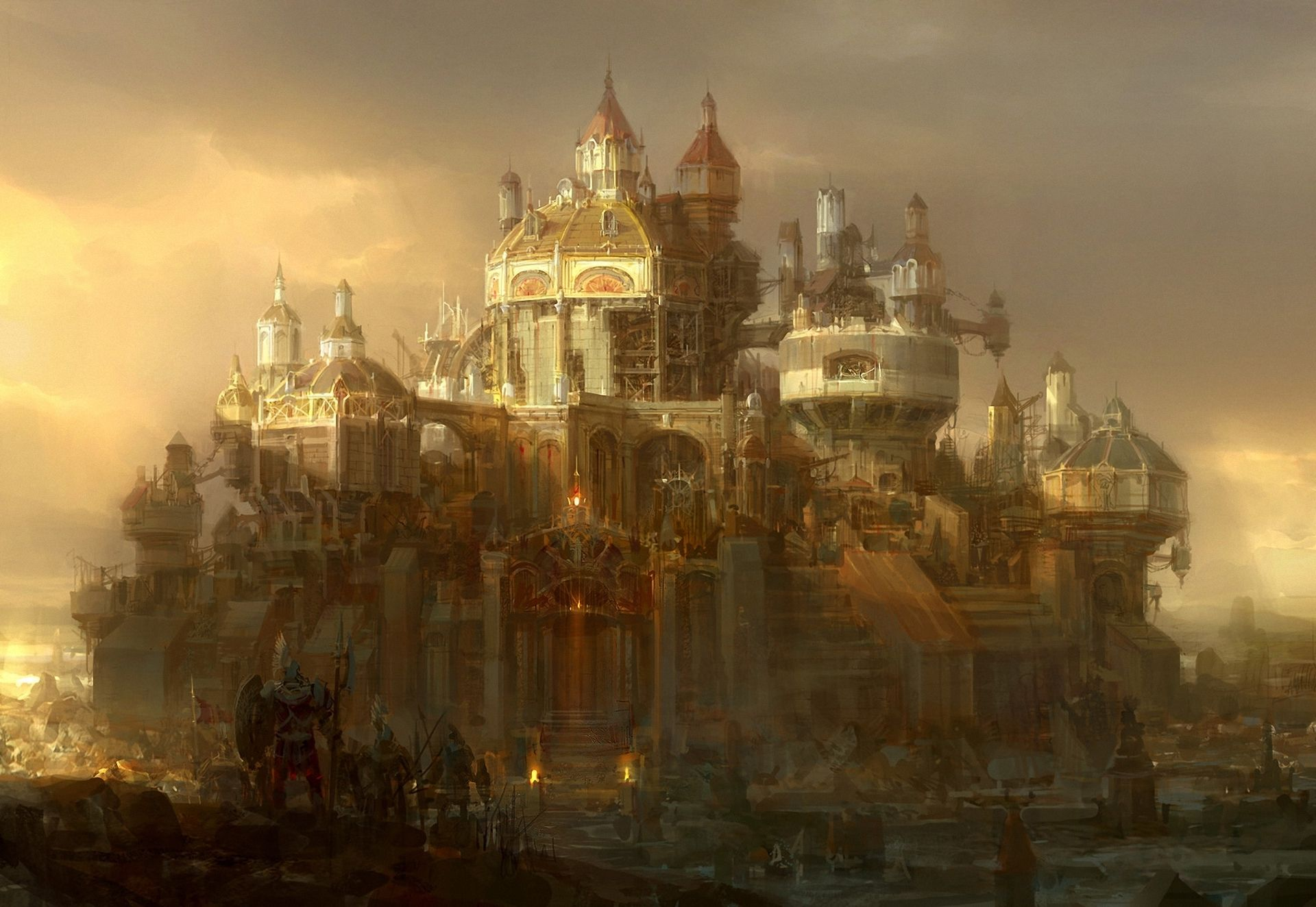 Steampunk City | Steampunk World | Pinterest | Fantasy ...