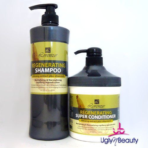 Lorenzo Regenerating Shampoo and Super Conditioner Set *** Check out the image by visiting the link.