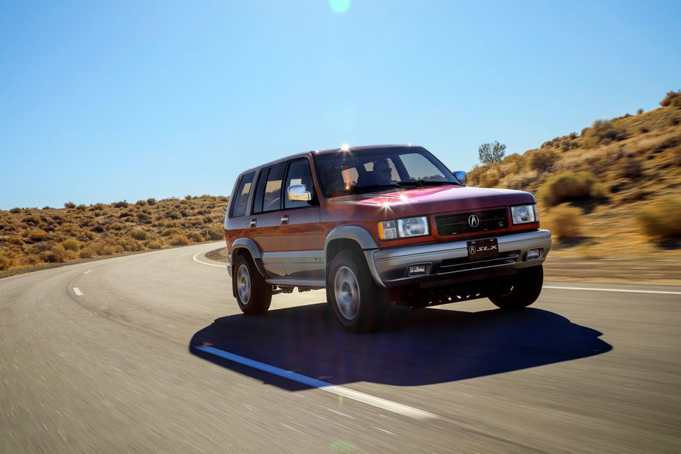 Photos of the Acura SLX for Radwood Modern, Vehicles