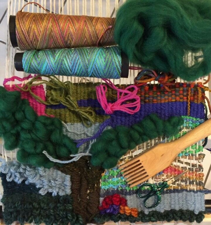 free form weaving  Free Form Weaving on a Rigid Heddle Loom Teacher: Mary Berry ...