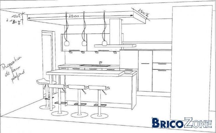 Dimension Plan De Travail Cuisine.Image Result For Taille Ilot Cuisine Architecture