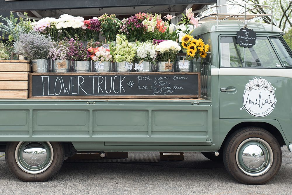 Keep an eye out for Nashville's mobile flower shop, Amelia