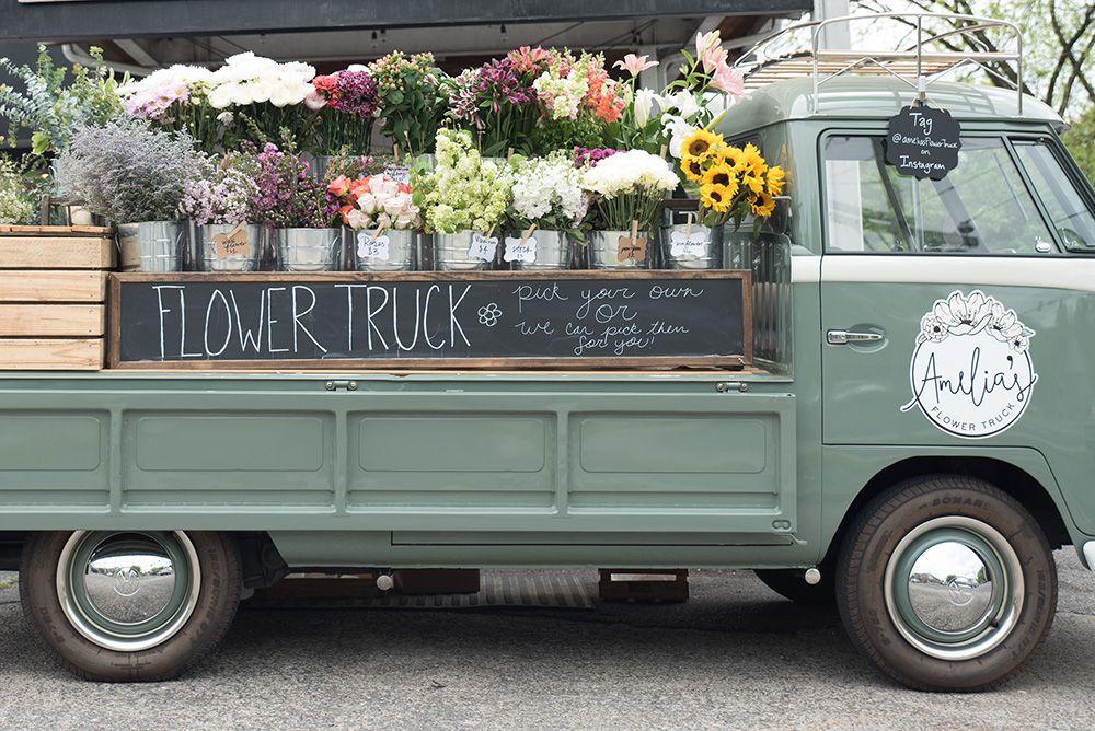 Gallery NASHVILLE'S MOBILE FLOWER SHOP Flower truck