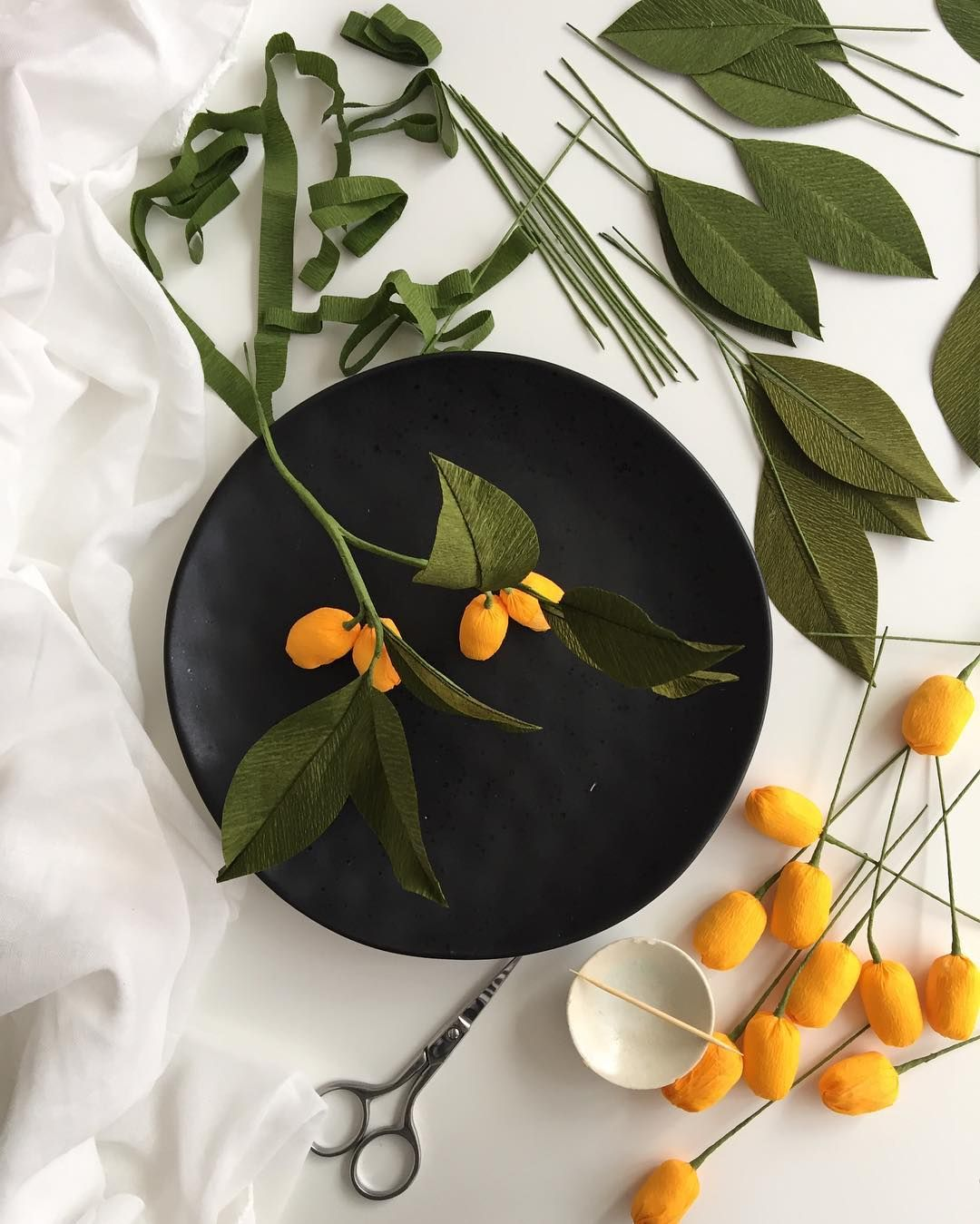 kumquat branches for my next show at kinokuniya sydney 7 months