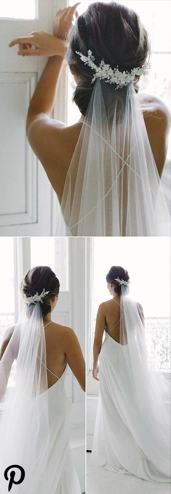 Top 11 Hochzeitsfrisuren mit Schleier und Accessoires #Hairstyles