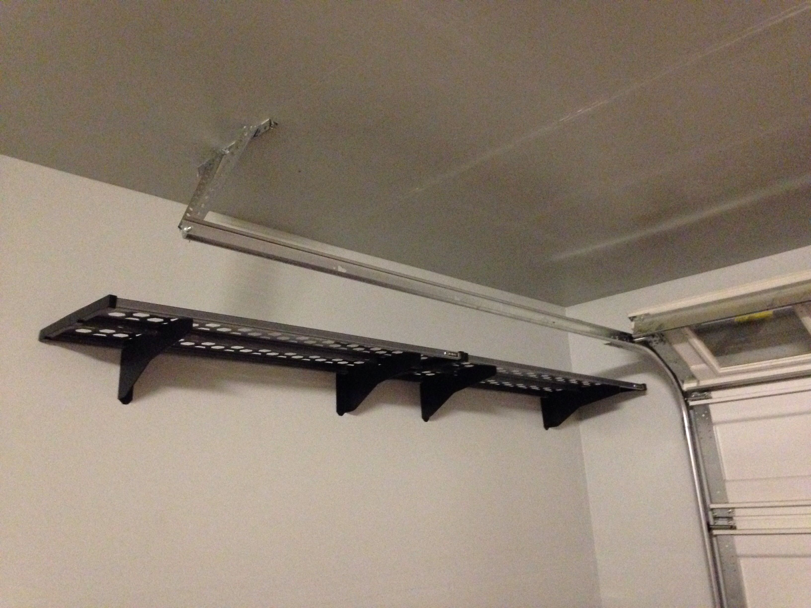 Garage storage  Kobalt racks from Lowes. Garage storage  Kobalt racks from Lowes   Garage ideas   Pinterest