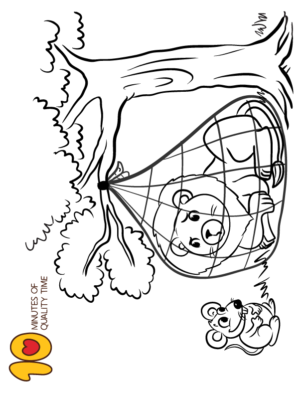 dulemba: Coloring Page Tuesday - The Lion and the Mouse | 792x612