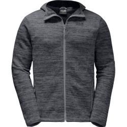 Photo of Jack Wolfskin men's under jacket Aquila Hooded, size Xxl in heather gray, size Xxl in heather gray