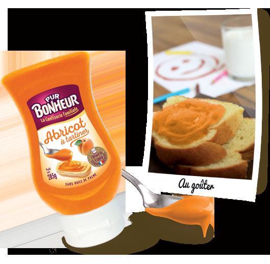 Pâte à tartiner Abricot PUR BONHEUR